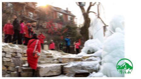 潭溪山奇观之冰瀑