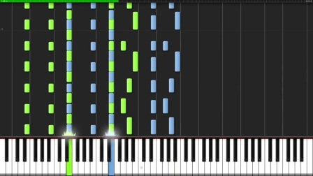 No Time For Caution - Interstellar [Piano Duet] (Synthesia)  Ian Yan