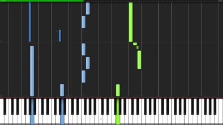 Once Upon A Time - Undertale [Piano Tutorial] (Synthesia)  bigbug54321