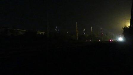 K879西安-成都三桥站通过