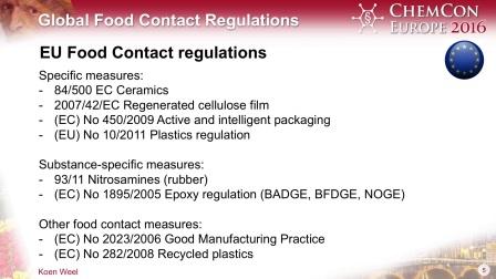 Global Food Contact Regulations by Koen Weel