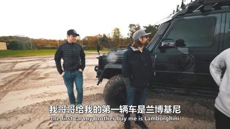 全新奔驰G500改装版全时四驱800马力极限测试挑战_ 特兰斯科视频翻译