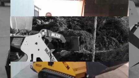 临沂美联重工多功能小铲车滑移装载机照片演示