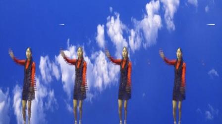 萧山青青广场舞 手语舞  《成吉思汗》