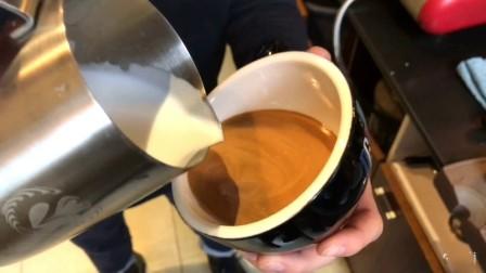 曼岛物语咖啡学院 咖啡拉花爱心