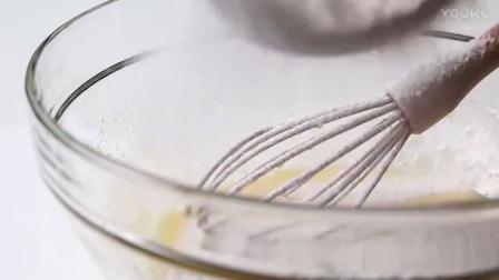 洪培教程烘焙教学-元气满满的黄金磅蛋糕奶油裱花