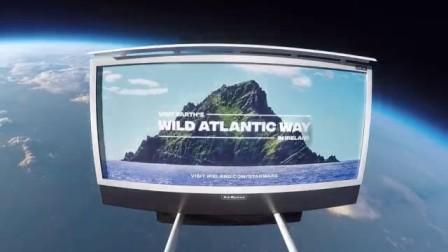 爱尔兰旅游局首个星际旅游推广项目--爱尔兰野性大西洋之路斯凯利格迈克尔岛