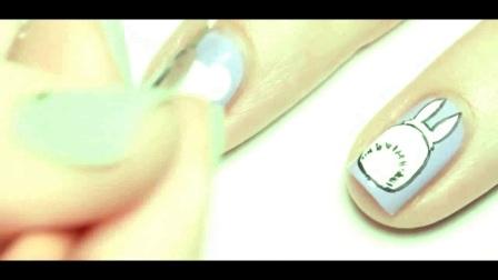 最简单的美甲视频a指甲护理基础修甲a美甲怎么贴甲片视频a1q