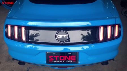 SOTNE(巨石排气)福特野马5.0 GT电子阀门中尾段