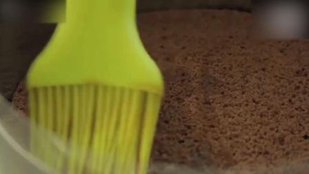 蛋糕裱花教学视频经典又美味的提拉米苏! 做巧克力慕斯蛋糕
