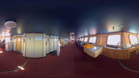 夸克北极点系列:50年胜利号核动力破冰船-360° 全景视频