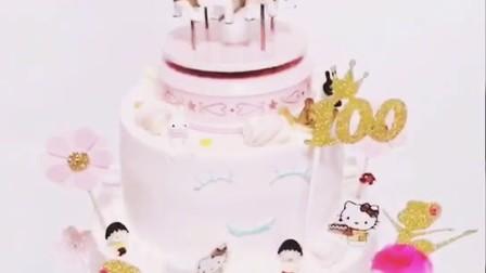 宝宝百天蛋糕