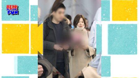 宋慧乔婚后首公开露面 低调现身机场
