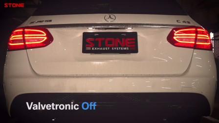 STONE(巨石)奔驰S205 M276 C43直管三元+双电子阀门中尾段