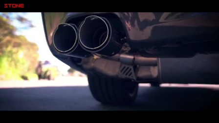 STONE(巨石)BMW G30 B48 530i涡流三元+双电子阀门中尾段