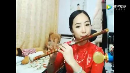 美女紫玉笛子独奏西游记插曲《天宫舞曲》经典