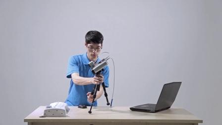 操作视频丨EinScan-Pro多功能手持式3D扫描仪,如何使用自由扫描模式?