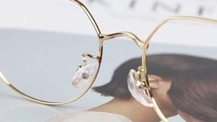 灵视眼镜旗舰店金属淑女系列复古眼镜框
