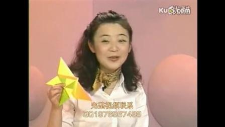 0042.-折纸花大全视频 幼儿手工折纸视频.