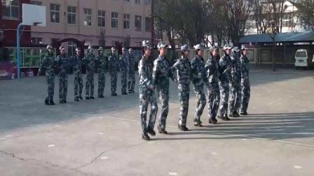 林州市文昌幼儿园国防教育梦幻海陆空亲子军事运动会