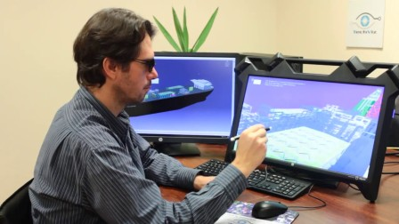 TechViz即时在zSpace桌面VR设备上实现Catia V5数据沉浸式可视化