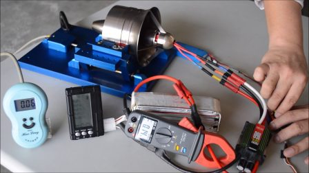 水星104mm第二代全金屬涵道測試2