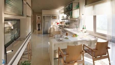 Lumion 8视频作品-生活和厨房设计