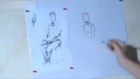 素描树素描_工笔画白描入门_入门素描手绘油画
