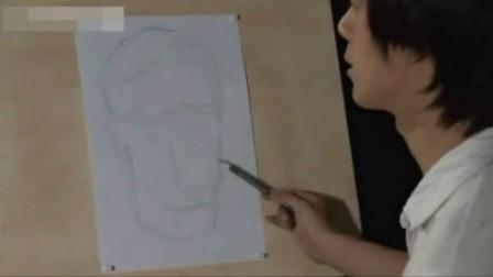 铅笔画教程视频 素描初学者临摹图片 风景建筑速写临摹图片