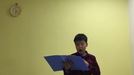 【英文演讲】I am Chinese!豪情万丈 壮志在心。来自K4班Alex!
