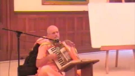 HH Mahavishnu Swami visits The Manor - YouTube