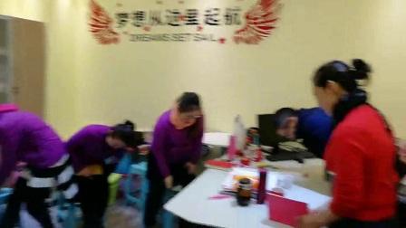 水木西点教育集团孟庆华老师走访济南八音盒舞蹈艺术培训学校