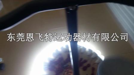 自发电健身车逐个点亮灯