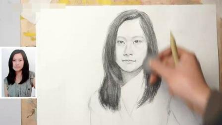 上海美术培训线描速写_人物头像素描入门_素描教学论文风景油画教程