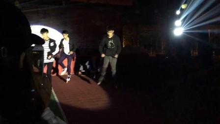 重庆三峡学院英语协会化妆舞会-光线轮滑协会2