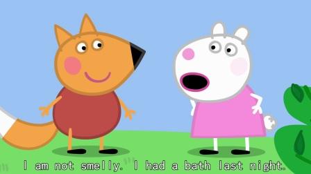 小猪佩奇 第四季 英语英字 01 Freddy Fox