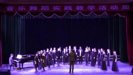 井冈山大学15级音乐二班合唱比赛《今天是你的生日》《梨花又开放》