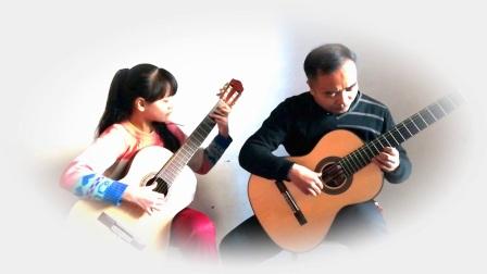 新疆哈密世纪梦吉他培训古典吉他二重奏《卡伐缇娜》