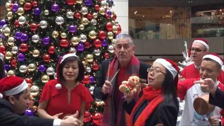 """富豪機場酒店和您嘻嘻哈哈過聖誕 Regal Airport Hotel """"Hip-hops"""" the Christmas World"""