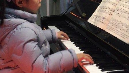 《四小天鹅舞曲》钢琴曲黄婉宁6岁