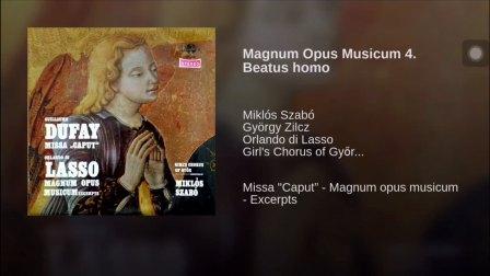 合唱视频 拉索  Beatus Homo (女声合唱)指挥 Miklos Szabo