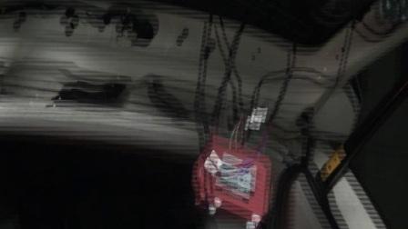 哥说累了,夜晚加班安装传棋GS4汽车自动尾门全过程