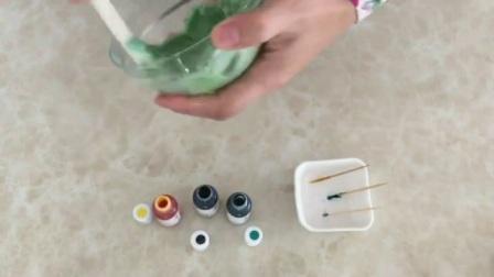 简单蛋糕裱花 裱花初学者技巧视频教程 生日蛋糕裱花培训