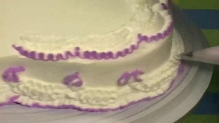 生日蛋糕制作过程_生日蛋糕制作培训_生日蛋糕制作法_生日蛋糕裱花12生肖8