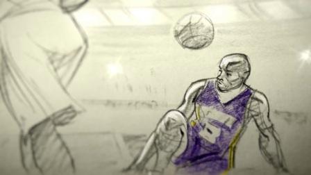 科比球衣退役仪式感人短片「亲爱的篮球」Kobe Bryant's Dear Basketball