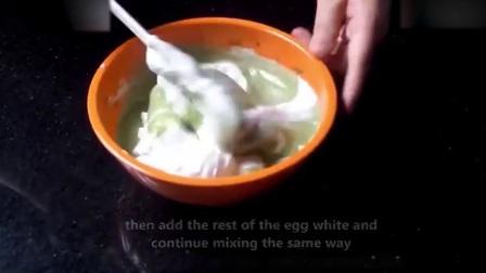 慕斯蛋糕教程绿茶水果蛋糕, 下午茶就靠它! _自制奶油
