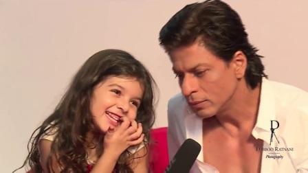 "(SRK 2017.12.20翻译发布 720P)沙鲁克汗Shahrukh Khan与可爱小萝莉的""叠词""聊天"
