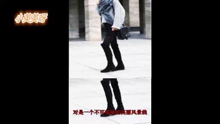 【蜜豹时尚】街拍宠儿的长筒靴,你确定配对了嘛?(2)