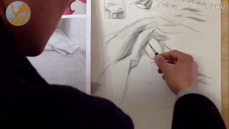 12衬布画法 素描入门_标清