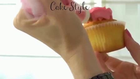 3D彩绘奶油霜转印视频-韩式裱花视频教程 奶油霜配方